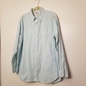Mens Brooks Brothers Button Down Size 17R